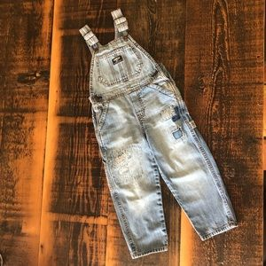 OshKosh Distressed Overalls